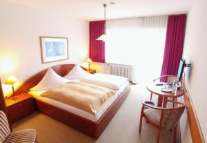 Ein Zimmer im Hotel Wilms Köln