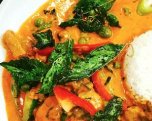 Essen bestellen Köln, leckeres Curry im Krua Thai