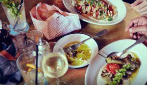 Essen in Saarbrücken im kleinen Restaurant