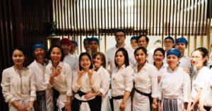 Das Team des Chi Keng Restaurant in Potsdam
