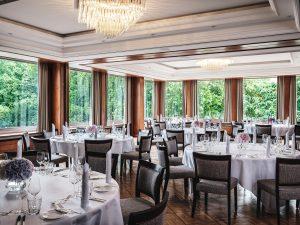 Speisesaal des Althoff Hotel am Schlossgarten in Stuttgart