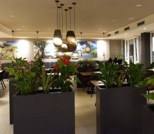 Der Innenraum von Sushi One Stuttgart