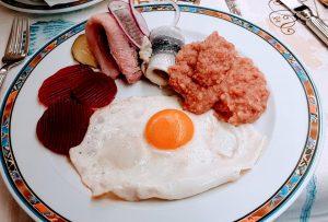 Essen in Kiel im Hotel Waffenschmiede