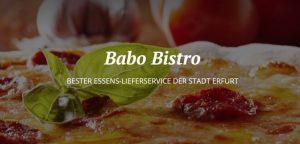 Babo Bistro – Döner & Pizza in Erfurt